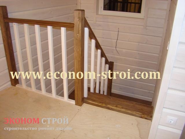 Готовые деревянные лестницы на второй этаж для дома и дачи